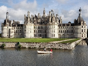 Castle, Loire, France, In Chambord, Valley
