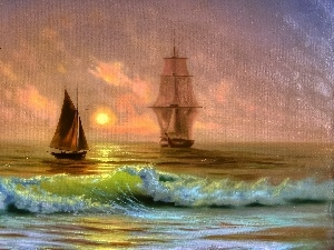 sailboats, picture