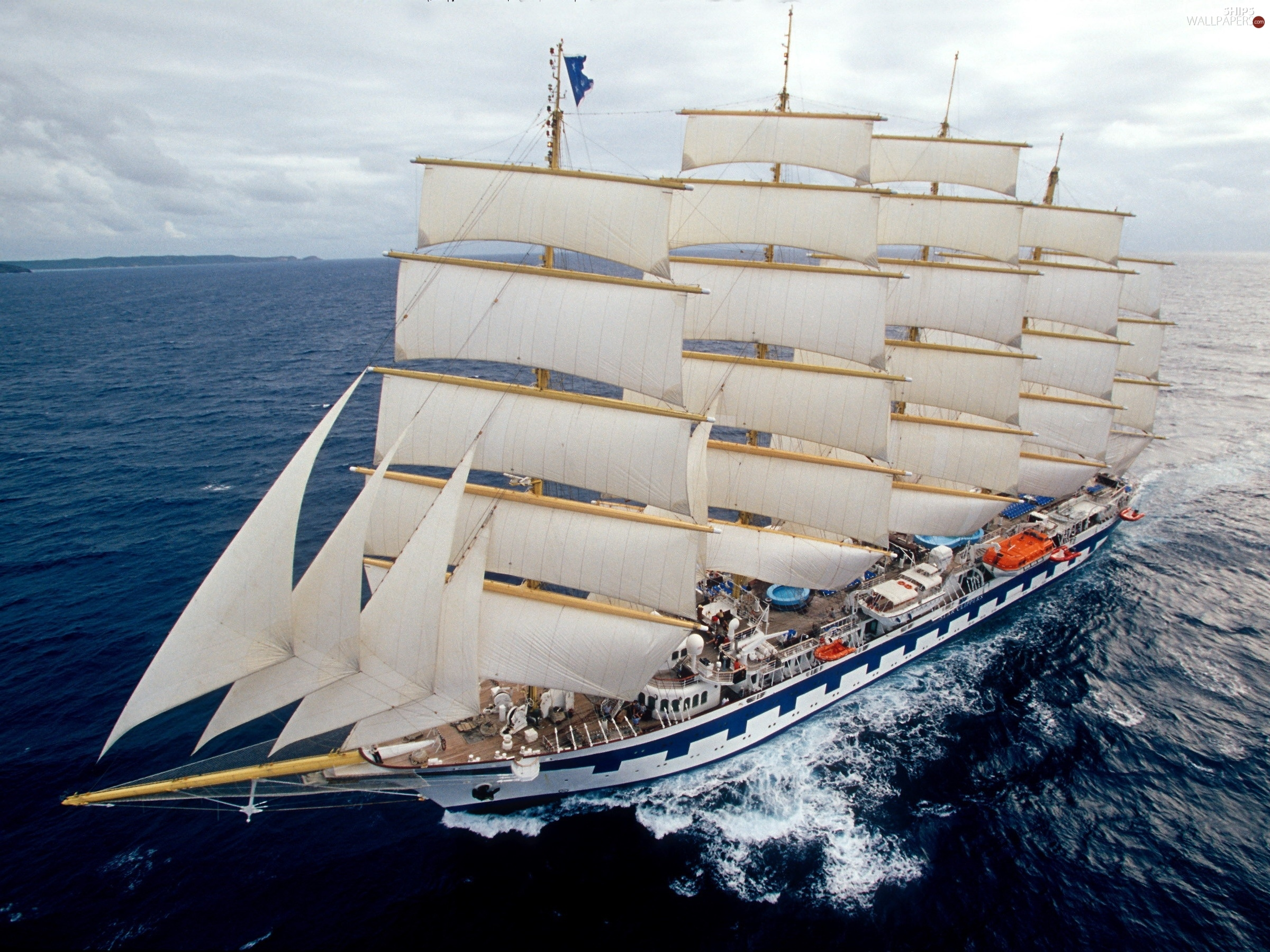 school Sedov, sea, sailing vessel