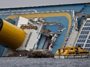 sinking, Costa Concordia, launch, cruise