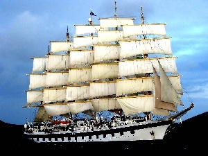 sailing vessel, Royal Clipper