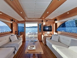 interior, yacht, View, cabin