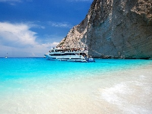 Greece, Ship, Yachts, wreck Bay